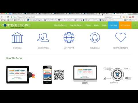 #1 Donation Software by Continue to Give: Online Giving for Church and Nonprofits