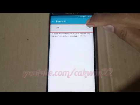 Android : How to Unpair Bluetooth Device in Samsung Galaxy S6