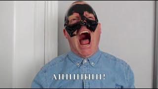 Tiny Tim using a Charcoal Mask!!!