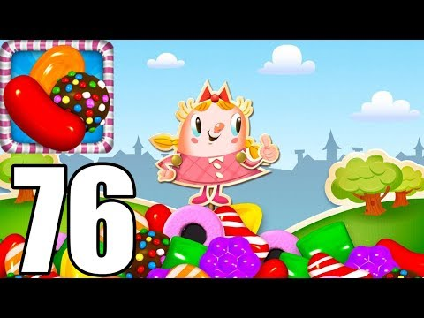 Candy Crush - Level 76 - Gameplay Walkthrough (iOS & Android)