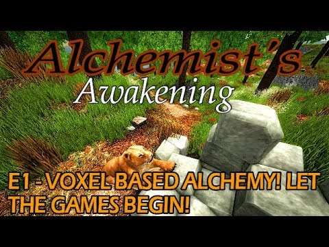 Alchemists Awakening - E1 - Voxel Based Madness! How Have We Not Heard of This Game!