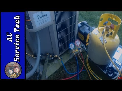 HVAC Recovery Procedure: Machine, Tank, Tools Used Step by Step! Recovering Refrigerant!