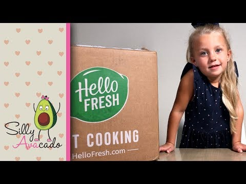 Do Kids Like Hello Fresh? 💜 Hello Fresh Unboxing & Review 💜 2nd Meal Delivery Kit Review!