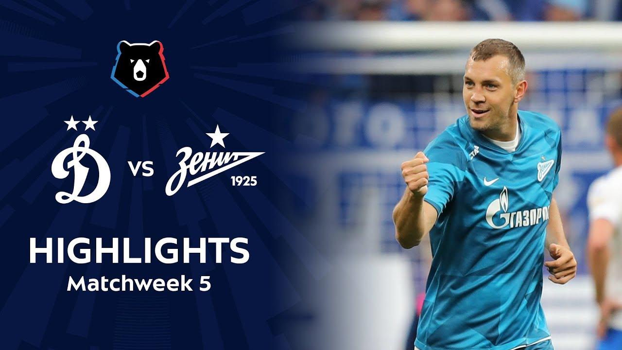 Highlights Dynamo vs Zenit (0-2) | RPL 2019/20