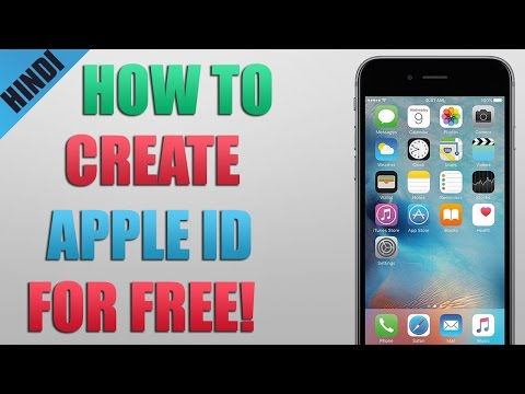 [ HINDI ] How To Create Apple ID For FREE!
