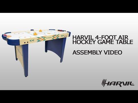 Assembly Video | Harvil 4 Foot Air Hockey Table | Dazadi.com