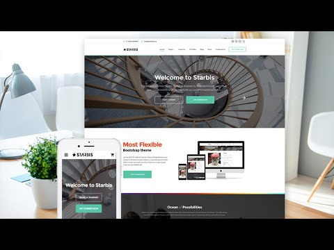 Create a Responsive Website using Bootstrap 4 in Hindi