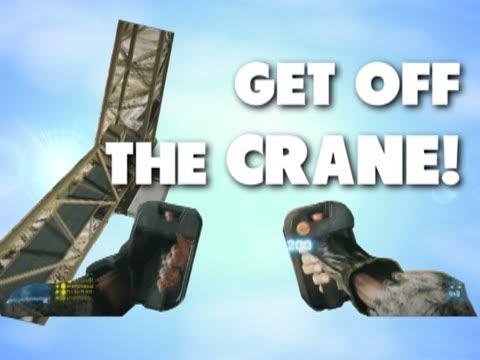 Battlefield 3 - Get off the damn crane