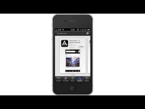 How to Set Yahoo! Browser to iPhone and iPad