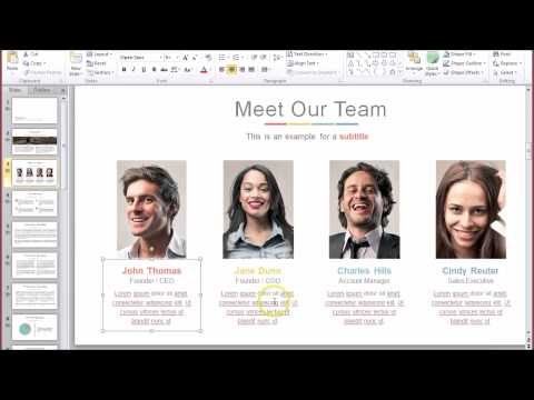 WOW Presentation Demo: Banish boring PowerPoint presentations with these templates