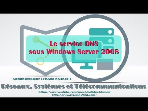 Le service DNS sous Windows Server 2008 (KHALID KATKOUT)