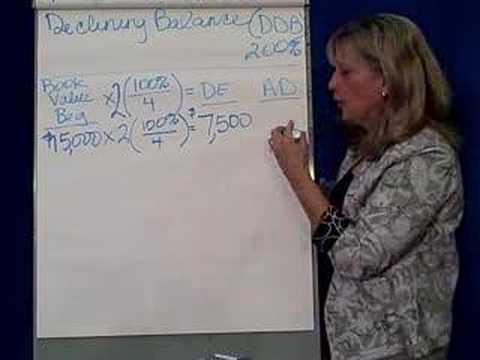 FA 9 5 Declining Balance Depreciation