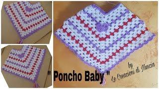 Crochet Uncinetto Poncho Vidlyxyz
