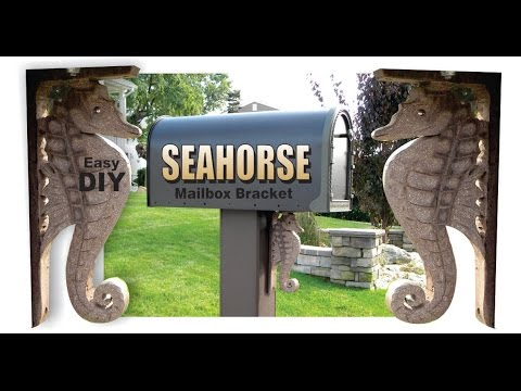 How to make a Seahorse Mailbox Bracket