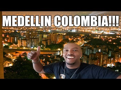 Visiting Medellin Colombia on Vacation - Parque Lleras Nightlife and More...