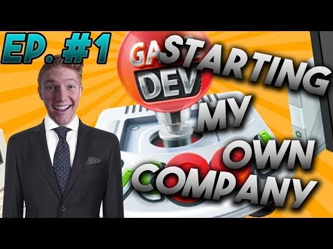 STARTING MY OWN COMPANY! | Game Dev Tycoon | Ep. #1