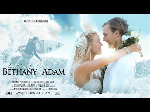 Bethany Hamilton Wedding Film in Kauai, Hawaii