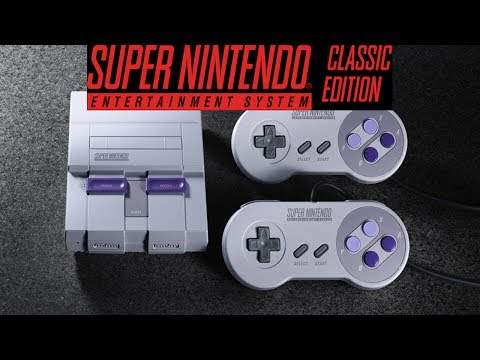 Super NES Classic Edition ANNOUNCEMENT