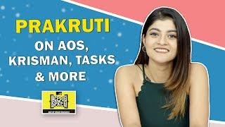 Prakruti Mishra Talks About Ace of space 2 | Baseer & Her Friendship, Krisman & More