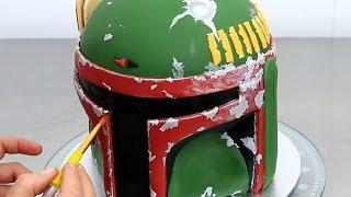STAR WARS Boba Fett Cake How To Make by Cakes StepbyStep