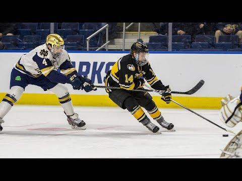 Hockey Highlights - Tech vs. Notre Dame at NCAA - March 23, 2018