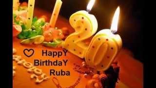 #x202b;عيد ميلاد سعيد رورو Happy Birthday Ruba#x202c;lrm;