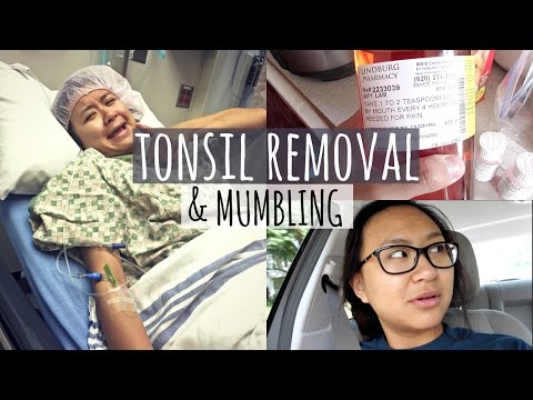 TONSIL REMOVAL & MUMBLING! | Vlog #11