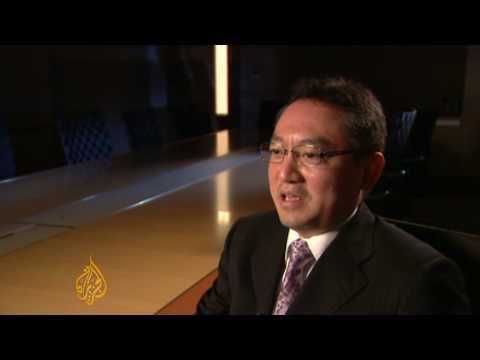 Japan's giant economy in peril