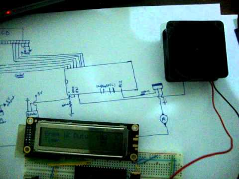 PIC16F877A Project DC Motor Speed controller using PWM and BJT Thermal analysis  Hussien Atieh