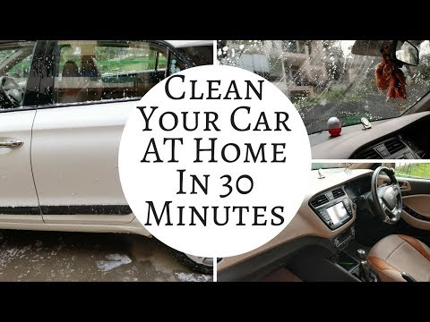 How to clean your car at Home? || Make your old car look brand New || At home only
