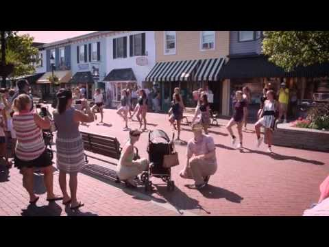 Mike Chick and Jenn Chick's Anniversary Flash Mob in Cape May