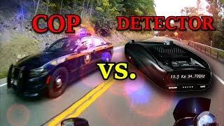 Motorcycle Radar Detector Vs. Cop 3
