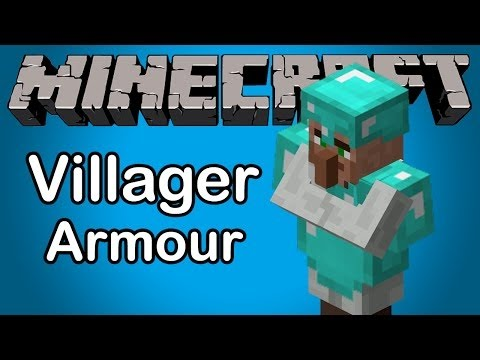 Minecraft Armor Armoured Villagers How to tutorial
