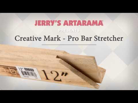 Creative Mark Heavy Duty Gallery Pro-Bar Stretcher Strips