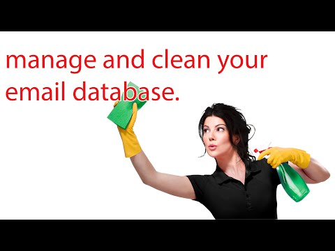 Manage And Clean Your Email Database