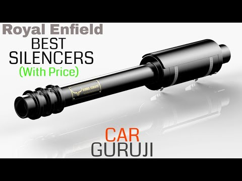 ROYAL ENFIELD BEST SILENCERS(With Price) | Must Watch Before You Buy | Car Guruji