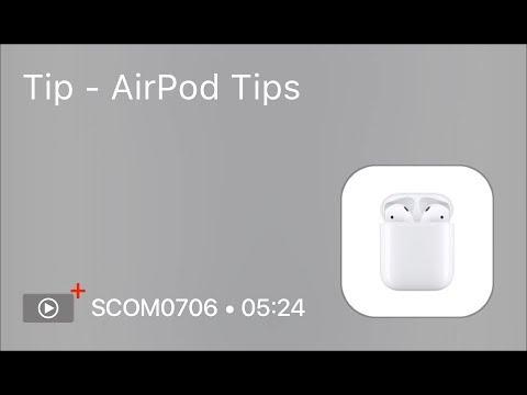 SCOM0706 - Tip - AirPod Tips