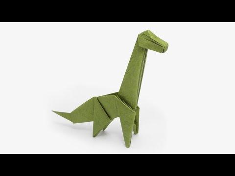 Origami Brachiosaurus (Jo Nakashima) - Dinosaur #4