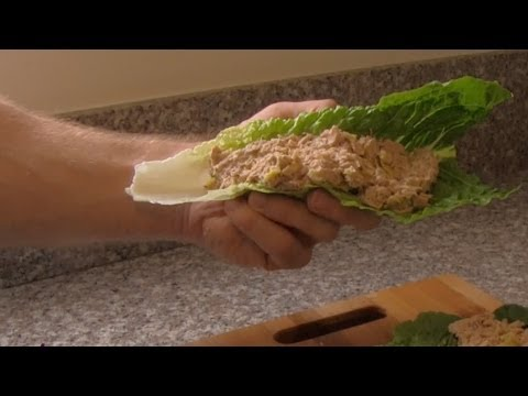 Healthy Tuna Lettuce Wraps Recipe