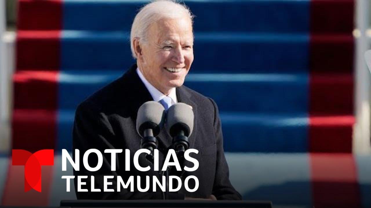 Joe Biden ofrece su primer discurso como presidente   Noticias Telemundo