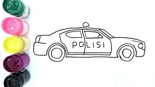 6000 Koleksi Gambar Mobil Polisi Mewarnai Terbaru