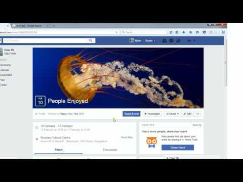 How to create Facebook Page Event and event poll in Facebook -Update