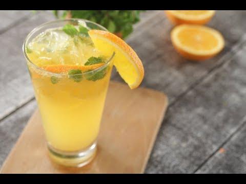 Orange Mojito   Sanjeev Kapoor Khazana