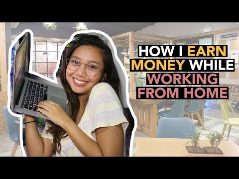 HOW I EARN MONEY WHILE WORKING FROM HOME