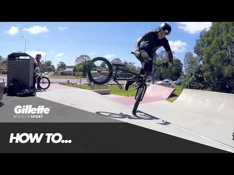 BMX 101 - How To Whiplash with Kyle Baldock
