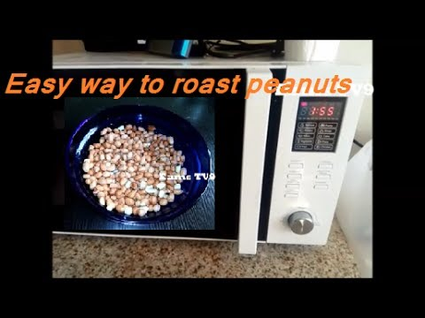 Easy way to roast peanuts