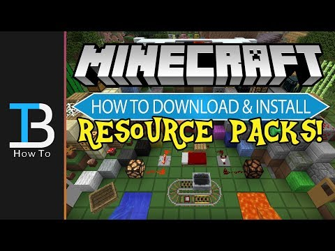 How To Download & Install Resource Packs in Minecraft (Get Texture Packs in Minecraft!)
