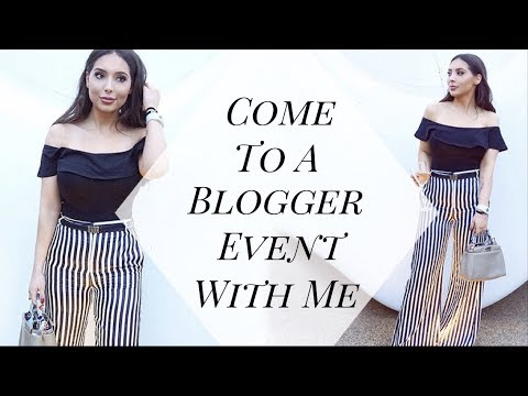 Come To A Blogger Event With Me + Shopping, Getting A Facial & OOTD