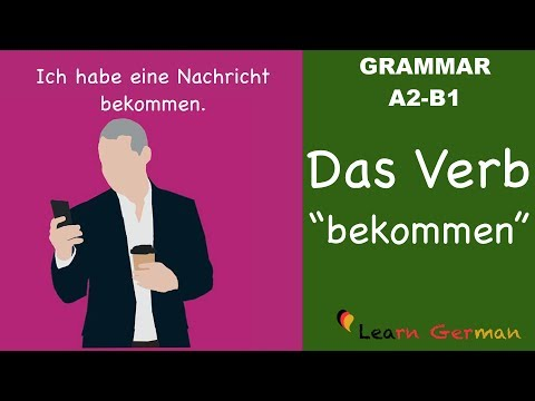 Learn German   German Grammar   Das Verb