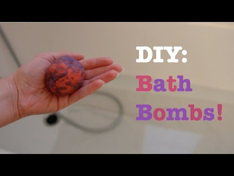 DIY Bath Bombs (no citric acid, corn starch or cream of tartar) | Sofieee